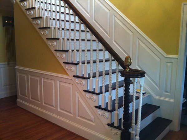 Built in Staircase and rails