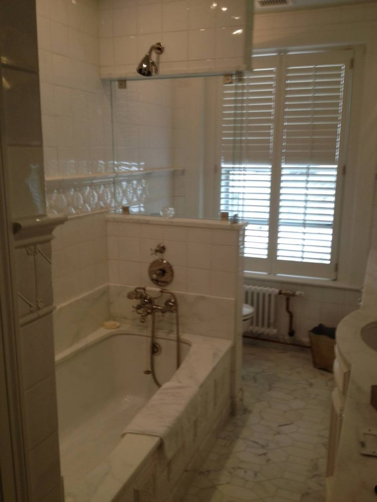 NW DC Bathroom Remodel Bradley Construction Inc - Bathroom remodeling dc area